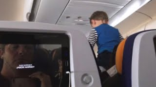 Child Screams For Most of 8-Hour Long Flight