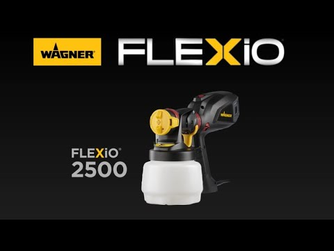 FLEXiO 2500 Paint Sprayer Video