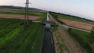 Mavic FPV dans les champs de blé