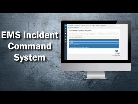 EMS Incident Command System