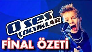 O Ses Çocuklar Türkiye Finali (Hızlı Bakış) - Şampiyon Derin Yeğin