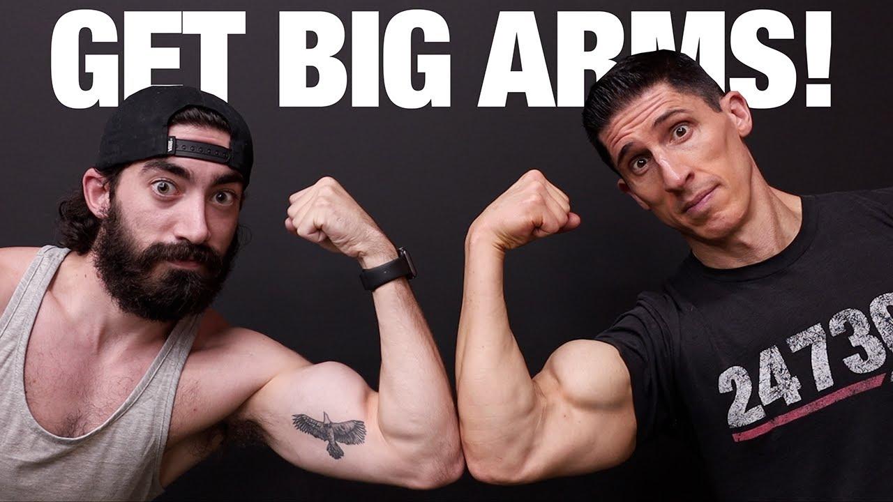По-големи ръце за трудно качващите мускулна маса