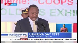 President Kenyatta leads Ushirika day fete at KICC