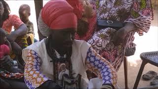 Mbellongoutte Sénégal - Distribution des moustiquaires !