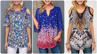 Beautiful Collection Of Womens Chiffon Blouses For Mid Summer 2020 Fashion
