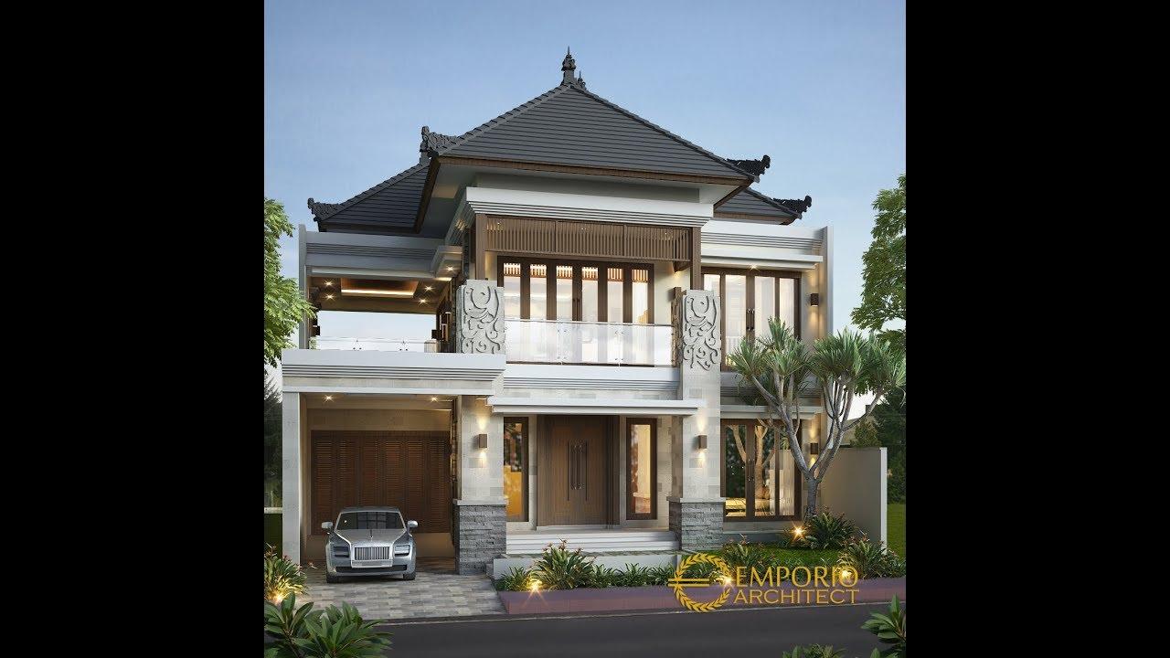 Video 3D Desain Rumah Villa Bali 2 Lantai Bapak Edy di Kuta, Bali