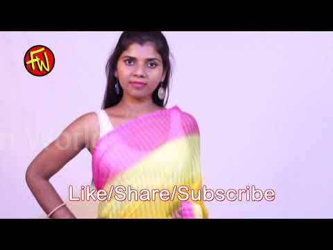 how to wear a saree, pink and yellow step to step draping saree