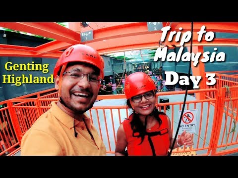 Trip to Malaysia Day 3 II Genting Highland & Little India II Asia's Best Tourism Country