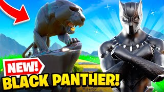 *NEW* BLACK PANTHER in Fortnite! (SECRET UPDATE + MORE)