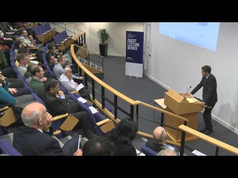 """The 2008 Banking Crisis"": Hugh Pym (Chief Economics Correspondent for the BBC)"