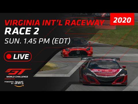 ブランパンGTワールドチャレンジ・アメリカ バージニア Race2 フルレース動画