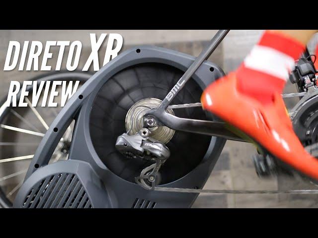 Видео Велотренажер без кассеты Elite Direto XR-T Cycletrainer черный