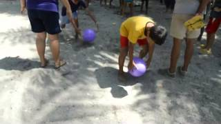 Parlor Games for kids - Balloon Race for Kids or Adults