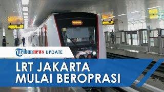 LRT Jakarta Sudah Mulai Beroperasi Komersial, Harga Hanya Rp5000