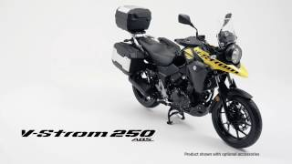 Suzuki V Strom 250 ABS Official HD Video 2017