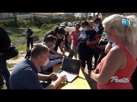 Kistarcsán a romatelepen élőket segítették az oltásregisztrációban