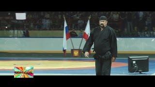 ✔ Стивен Сигал провел мастер класс по айкидо на открытии Всероссийского турнира по самбо в Саратове