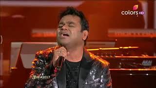 A.R Rahman ¦¦ Enna Sona Full Song    IIFA Rocks 2017