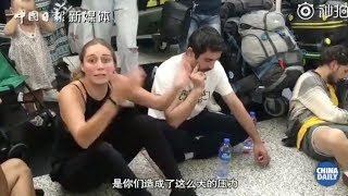 Foreign visitors: we just want to go home, you mob give us so much pressure