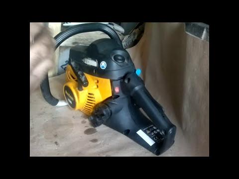 Настройка карбюратора бензопилы #Партнер-350S». Или как не платить ремонтникам!