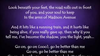 Better Than Me - David Cook Lyrics
