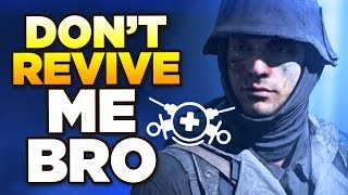BFV MEDICS CAN 100% REVIVE ALL | This is how rumours start though...