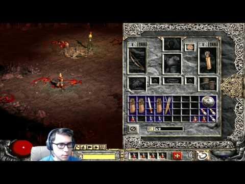 Diablo 2: LoD - Прохождение за Амазонку [Hardcore] 1 акт, 1 часть #1