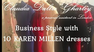 A Personal Assistant In London: Business Style With 10 KAREN MILLEN Dresses