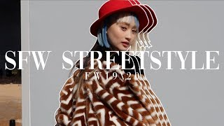 Streetstyle Seoul Fashion Week Fall/Winter 2019