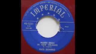 Fats Domino - Mardi Gras In New Orleans - September 10, 1952