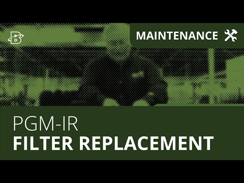 PGM-IR | Maintenance & Filter Replacement