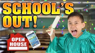 LAST DAY OF SCHOOL!!! Open House Room Tour & New Cell Phone Prank!