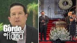 Gustavo Adolfo Infante cree que las cenizas de José José nunca llegaron a México | GYF