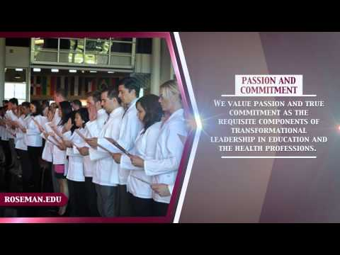 Roseman University of Health Sciences Core Values