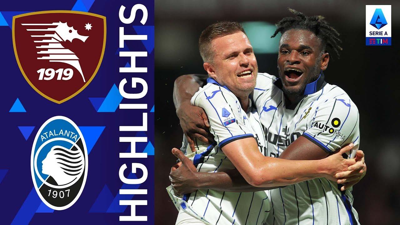 Salernitana 0-1 Atalanta | Zapata decide il match dell'Arechi | Serie A TIM 2021/22