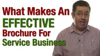 What Makes An Effective Brochure For A Service Business?