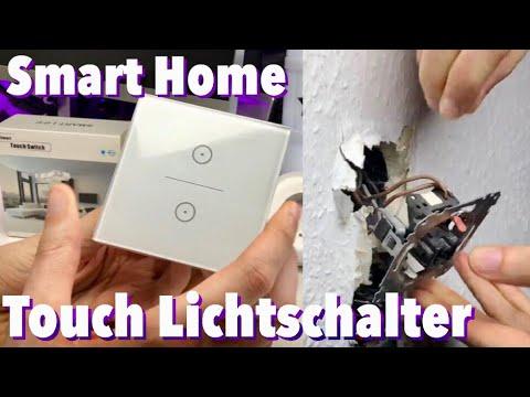 Smart Home WiFi Lichtschalter - Amazon Alexa kompatibel - Smart Life Vorstellung