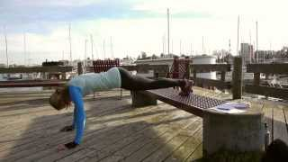 Park Bench Workout - 20 Min HIIT by Christine Salus