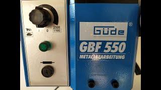 MINI MILLING MACHINE GÜDE GBF 550 CNC átalakítás I. rész (CNC conversion part I.)