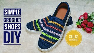 Crochet || Nadiva Crochet Shoes || Subtitles Available