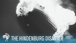 Hindenburg Disaster: Real Zeppelin Explosion Footage (1937) | British Pathé