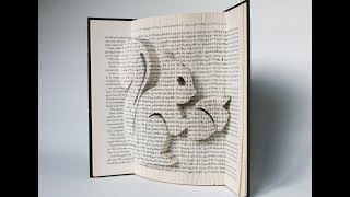 Book Folding Pattern Tutorial - Squirrel