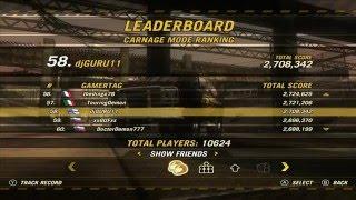 FOUC Carnage Mode Ranking Nov 12th 2009