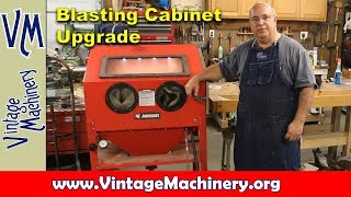 Harbor Freight 40lb Blast Cabinet Modifications, part 1 of 2