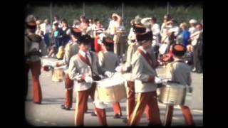 ViJoS Drum- en Showband 1982 Taptoe Bussum 25 jarig jubileum
