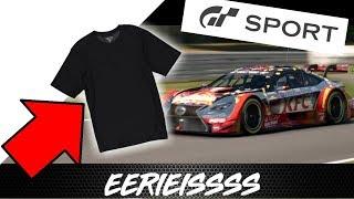 WELCOME BACK SUBSCRIBER SERIES, MERCH!! EERIEISSSS GT Sport August Update