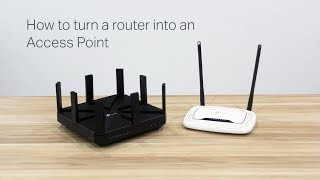 How to turn a router into an Access Point