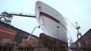 MS Europa: Werfterneuerungen 2017