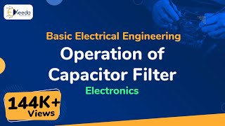 What is operation of Capacitor filter