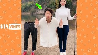 Funny videos 2019 ✦ Funny pranks try not to laugh challenge P77